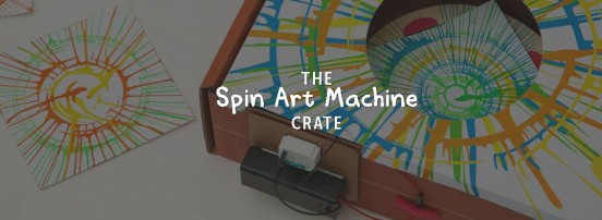 Kiwi Main Spin Art